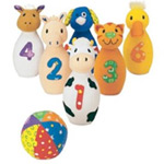 Earlyears Baby Farm Animals Bowling