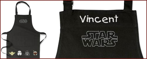Personalized Star Wars Kids Apron