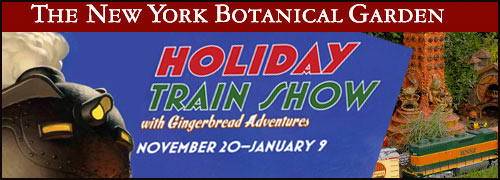 Holiday train show at ny botanical garden for New york botanical gardens train show