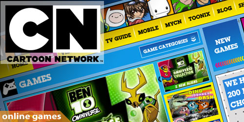 Cartoon Network Games For