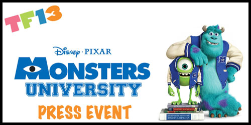 "Disney Pixar ""Monsters University"" Press Event"