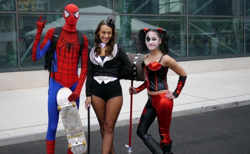 Spidey makes new friends at 2013 NY Comic Con
