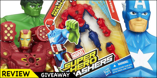 Hasbro Marvel Super Hero Mashers