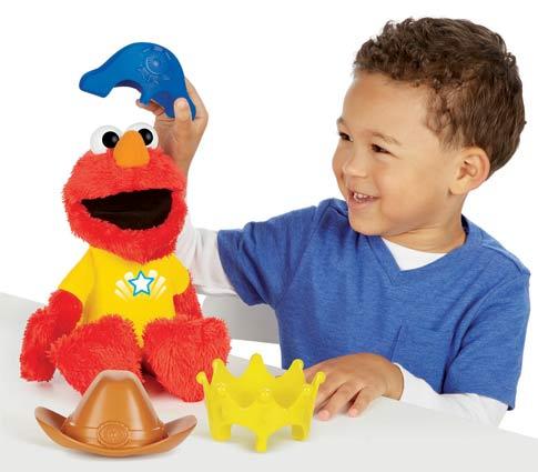 Learning Elmo
