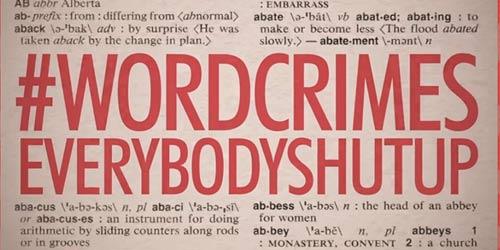 "Weird Al ""Word Crimes"""