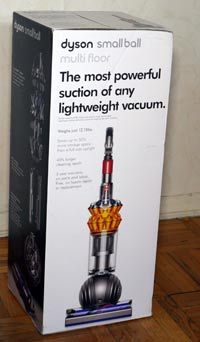 toys and gadgets: dyson small ball multi-floor upright vacuum