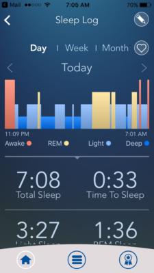 Beautyrest Sleeptracker Screenshot